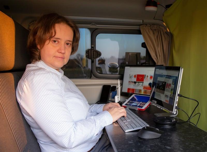 Business Camping - Mobiler Arbeitsplatz