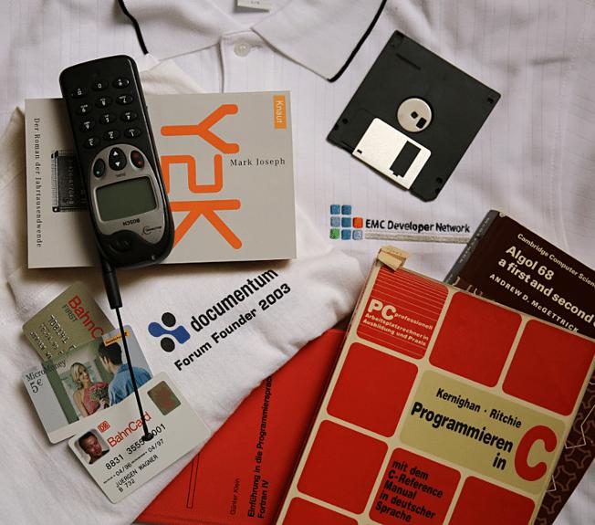 Erinnerungsstücke von einem unserer Consultants mit denen er auf 20 Jahre Softwareentwicklung mit Documentum zurückschaut