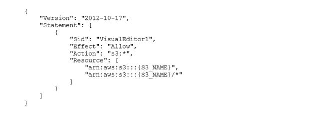 Konfiguration des S3-basierten Dateispeichers
